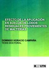 Efectos de la aplicación en suelos de lodos residuales provenientes de malterías